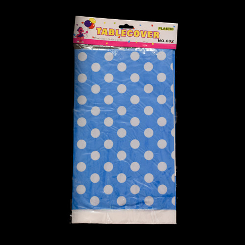 Table Plastic Cloth Dotted Printed (x1's)