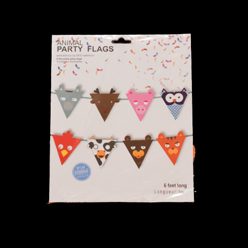 Letter Banner (Cutted Animal) Shape