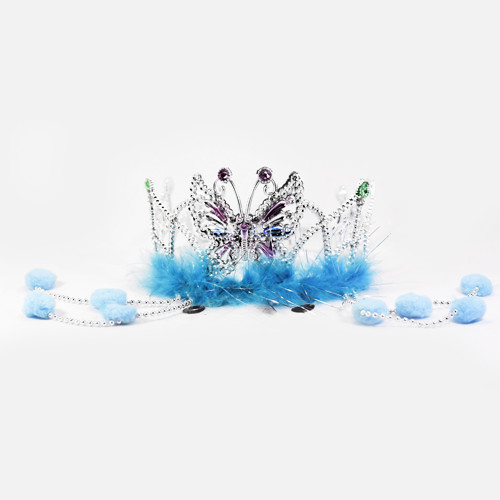 Princess Crown w/ Feather
