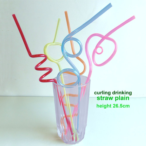 Curling Drinking Straw