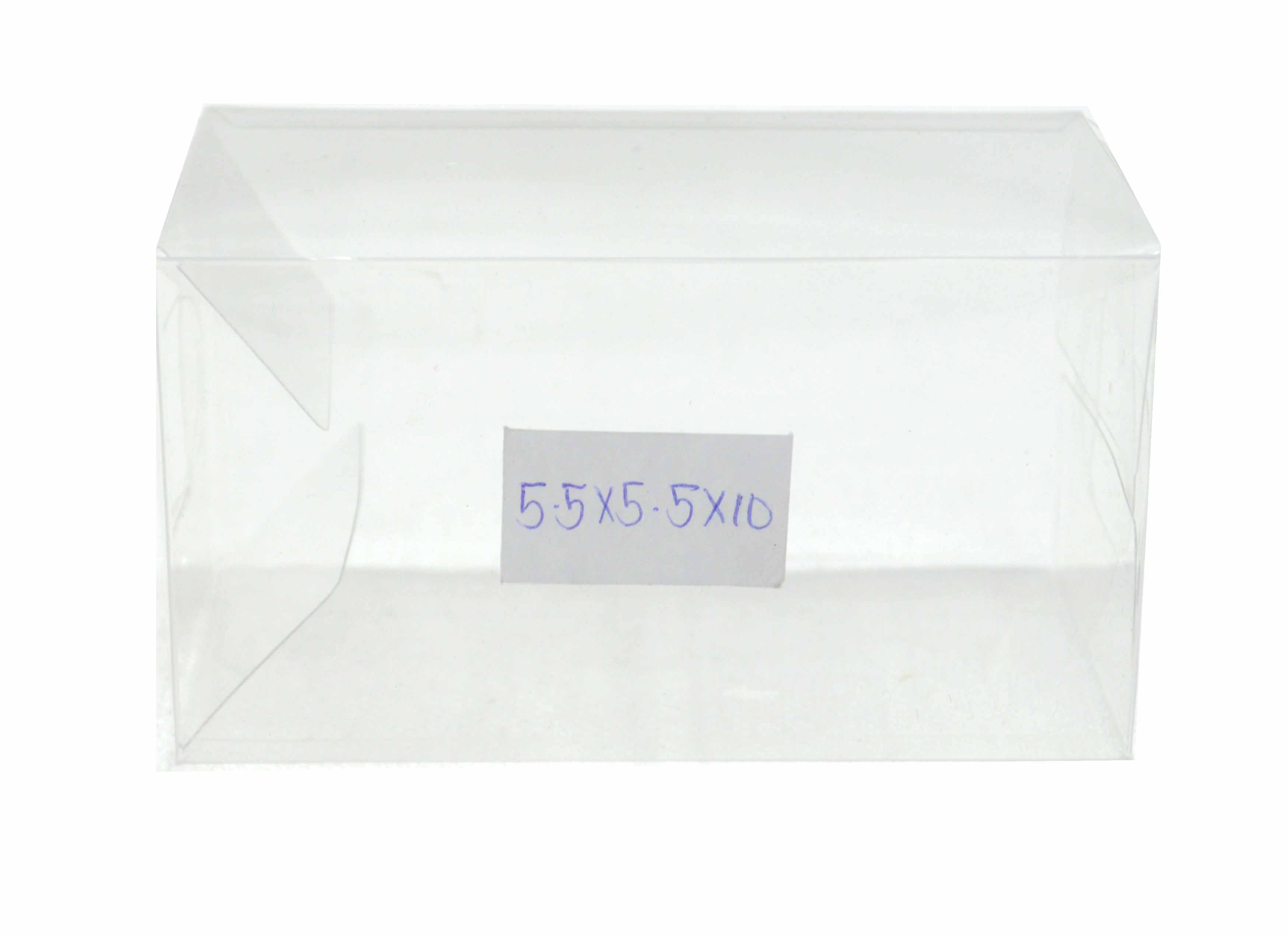 Acetate Box Size 5.5x5.5x10